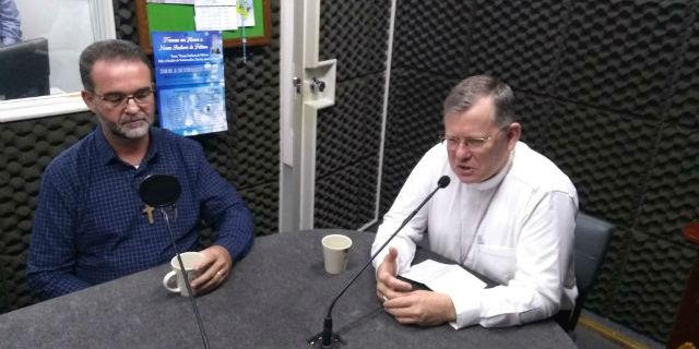 D. Jaime Spengler e Pe. Sílvio Guterres Dutra