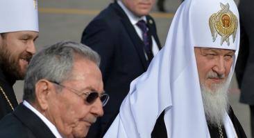 Patriarca Kirill já está em Cuba