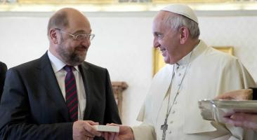 Presidente do Parlamento Europeu fala sobre o Papa
