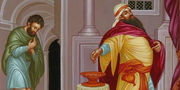 Quaresma 2018 - A parábola do fariseu e do publicano