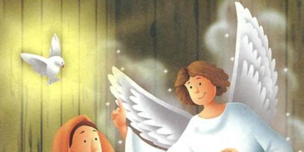 Alegra-te , cheia de graça, o Senhor está contigo!