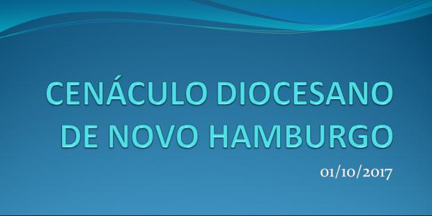 28/09 - Cenáculo Diocesano de Novo Hamburgo