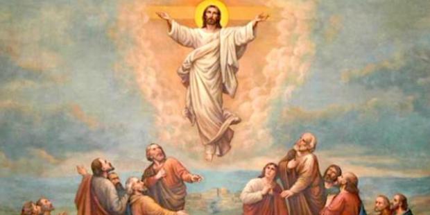 Por entre aclamações Deus se elevou